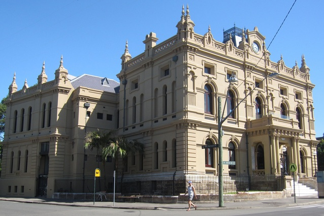 Glebe Town Hall in 2013, reopened to the community after extensive conservation work by Tonkin Zulaikha Greer.