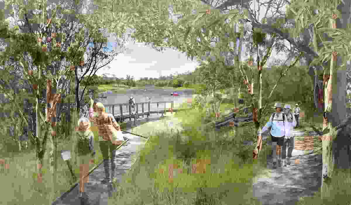 Oxley Creek Transformation Master Plan by Lat27, Oxley Creek Transformation Pty Ltd, Jacobs, Deloitte, Designflow, Hydrobiology, University of Queensland Cultural Heritage Unit received a commendation in the Best Planning Ideas – Large Project category at the 2019 National Awards for Planning Excellence.