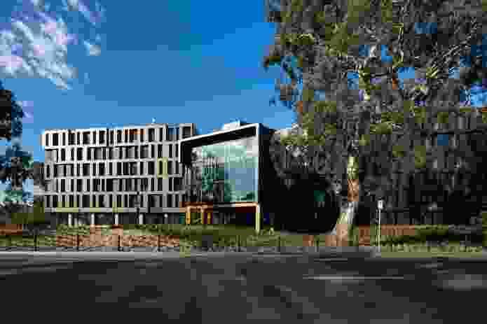 RMIT Bundoora West Student Accommodation by Richard Middleton Architects (RMA).
