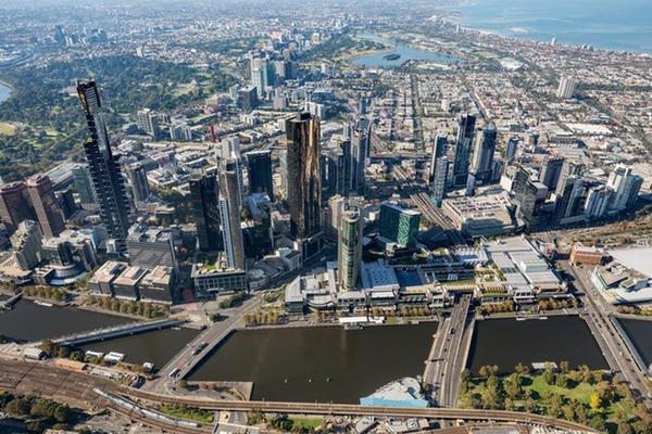 Melbourne's Southbank.