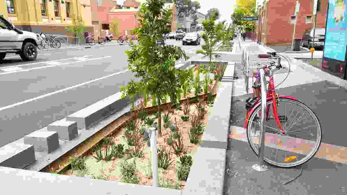 Brunswick Town Hall Precinct Streetscape Upgrade by Moreland City Council