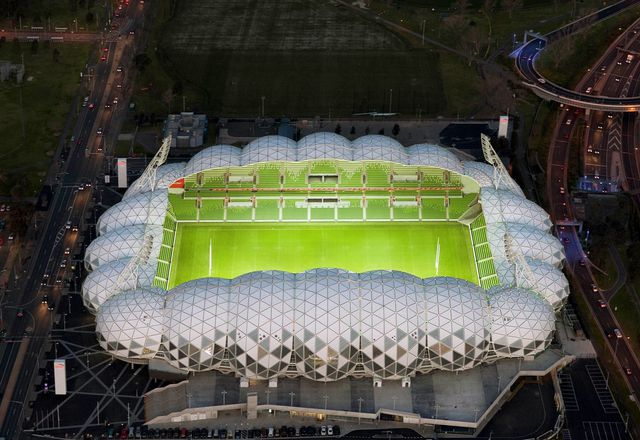 AAMI Park stadium by Cox Architecture.