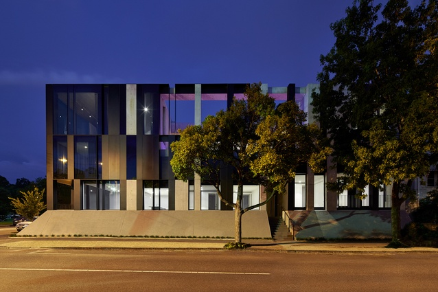 Domain Road Apartments (Vic) by Wood Marsh Architecture.