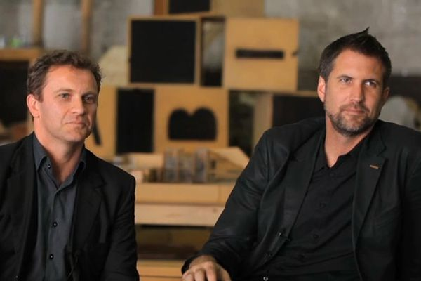 Creative Directors Anthony Burke (left) and Gerard Reinmuth (right).