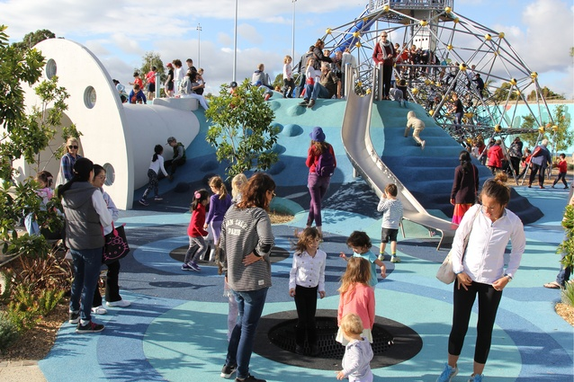 Booran Reserve Playspace by ACLA Consultants.