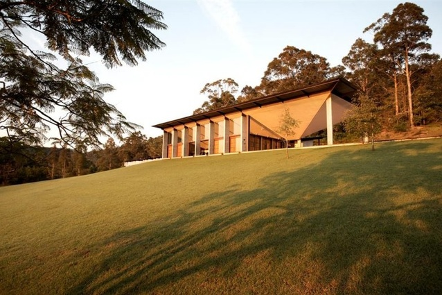 The Boyd Education Centre at Riversdale designed by Glenn Murcutt, Wendy Lewin and Reg Lark.