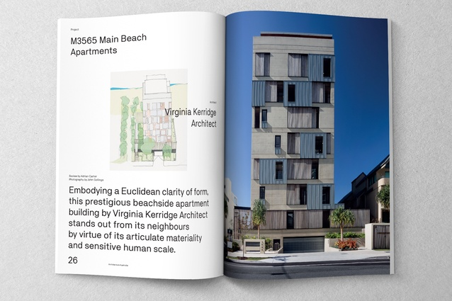 M3565 Main Beach Apartments designed by Virginia Kerridge Architect.