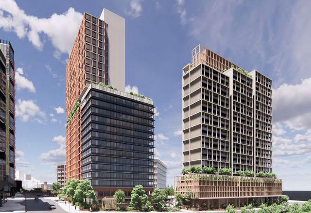 由Woods Bagot设计的布隆迪面向交通的发展塔。