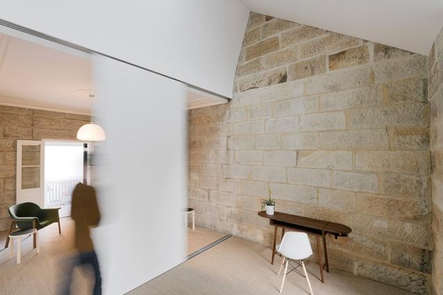 Little Old Balmain Sandstone Cottage by Carterwilliamson Architects.