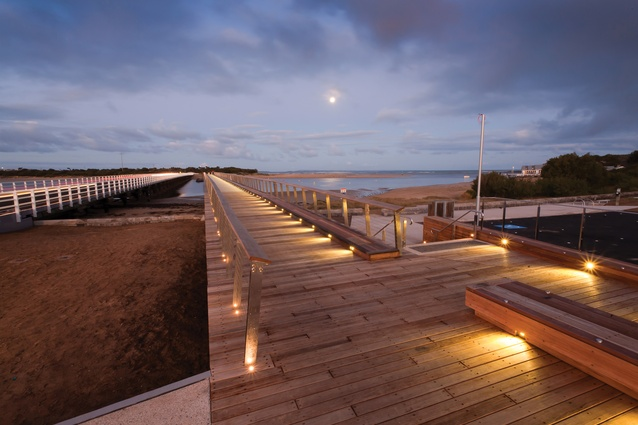 William Buckley Bridge by Peter Elliott Architects.