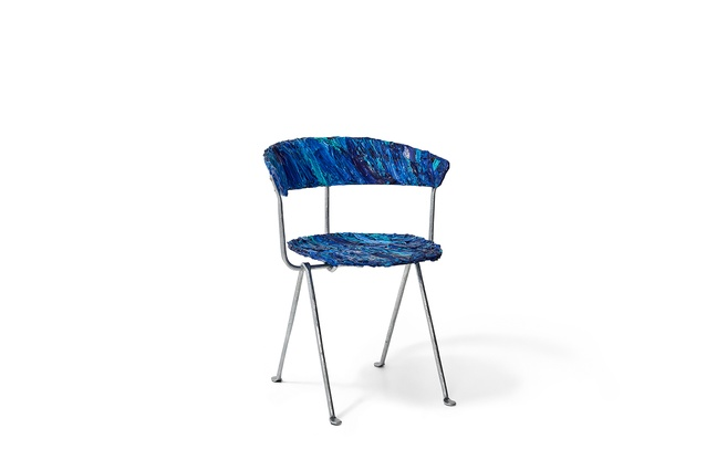 The Officina chair reinvented by Mim Design for Chairity Project 2016.
