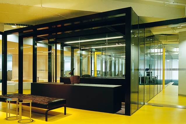 Transurban Office in Melbourne by Carr Design Group.