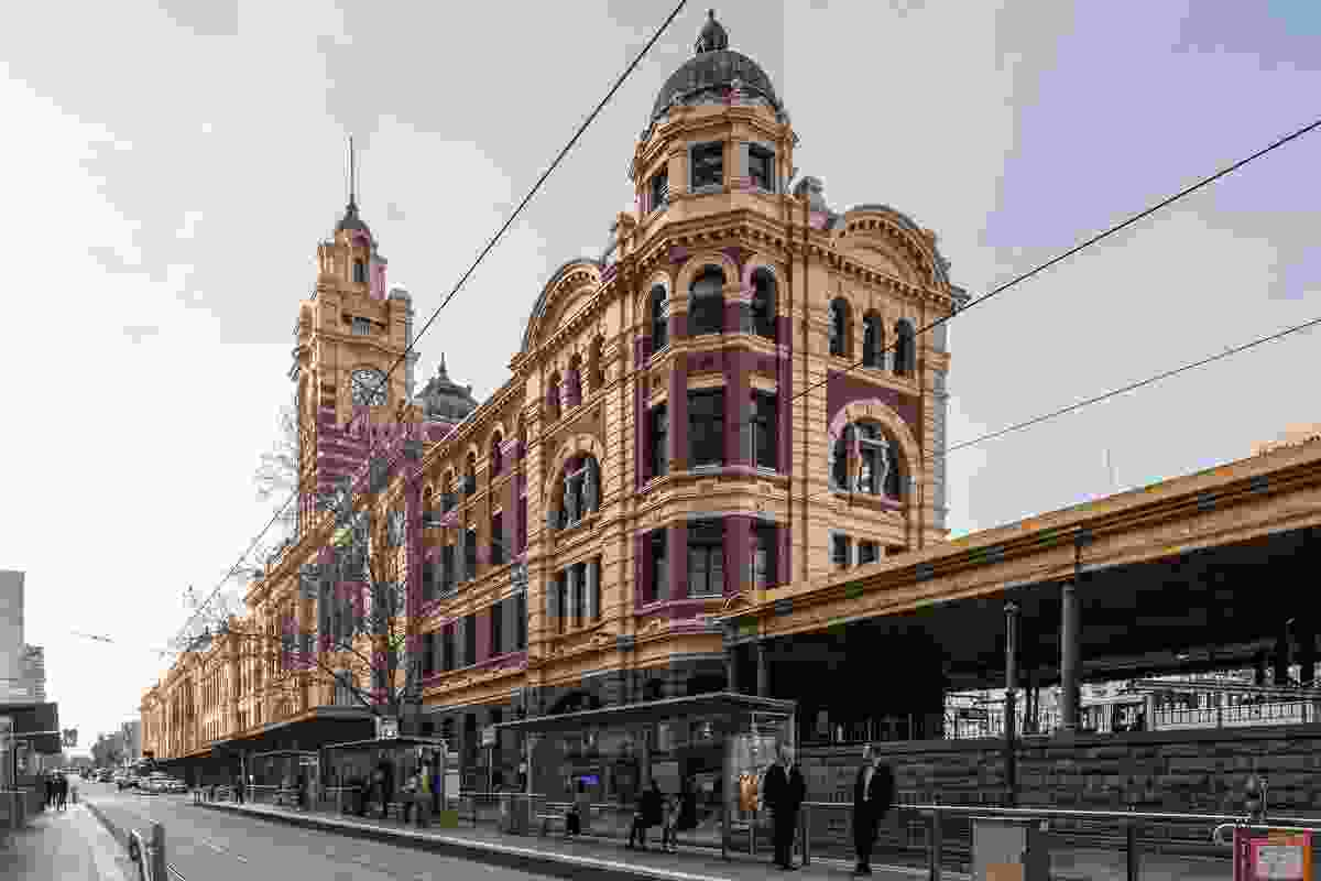 Flinders Street Station Façade Strengthening and Conservation by Lovell Chen.