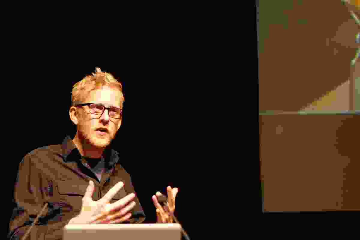 Keynote speaker Andreas Gjertsen.
