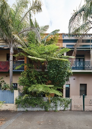 The heritage-listed house is part of the longest intact row of terrace houses in Sydney.