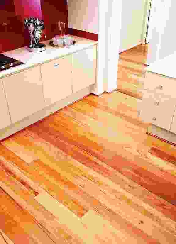 Boral Silkwood hardwood flooring.