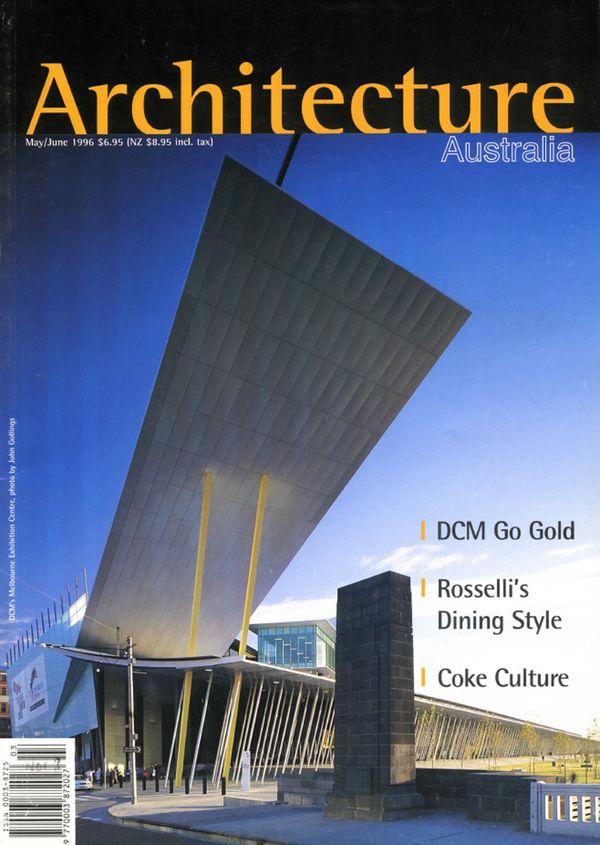 Architecture Australia, May 1996