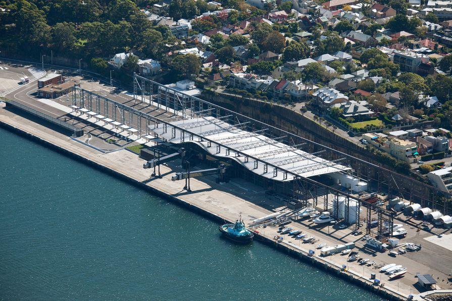 White Bay Cruise Terminal by Johnson Pilton Walker.