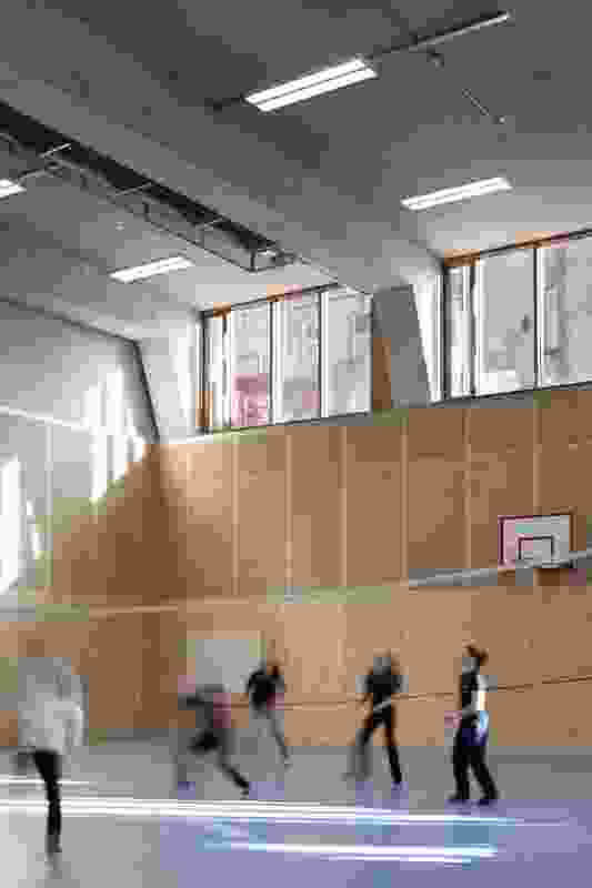 St Angela's College Cork Sports Hall by O'Donnell and Tuomey.