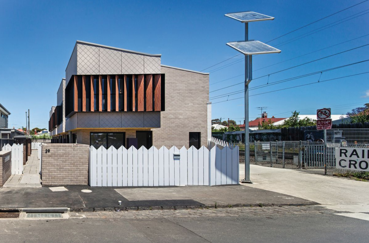 Coburg Townhouses by Schored Projects for Women's Property Initiatives.