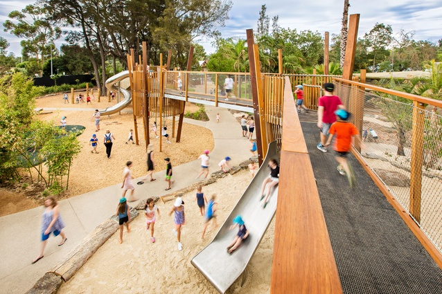 Adelaide Zoo Nature's Playground by WAX Design.
