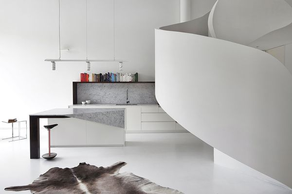 Loft Apartment by Adrian Amore Architects.