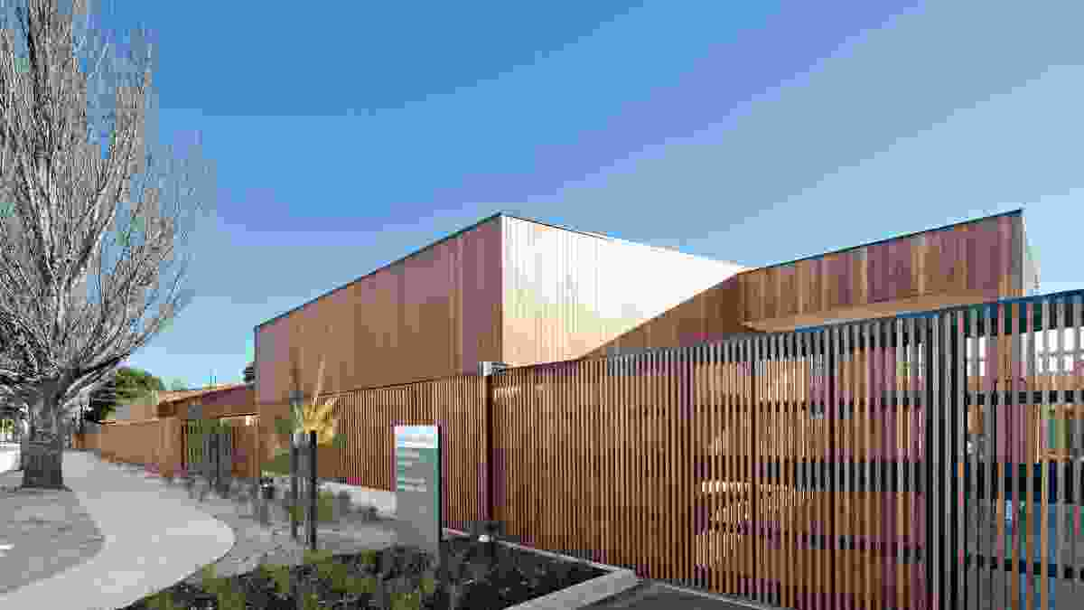 Dandenong Mental Health Facility (Vic) by Bates Smart Whitefield McQueen Irwin Alsop Joint Venture.