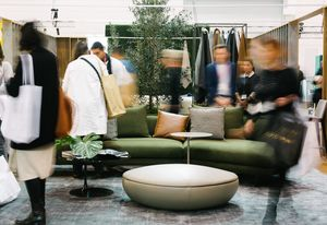Denfair featuring King Living (Stand 214 in Sydney).