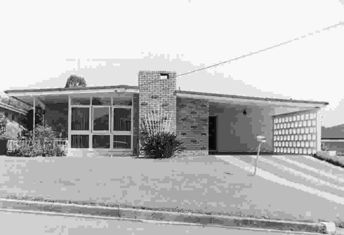 A mid-century modern house in Kenmore thought to be designed by Alan Graham Hamilton & Levin.