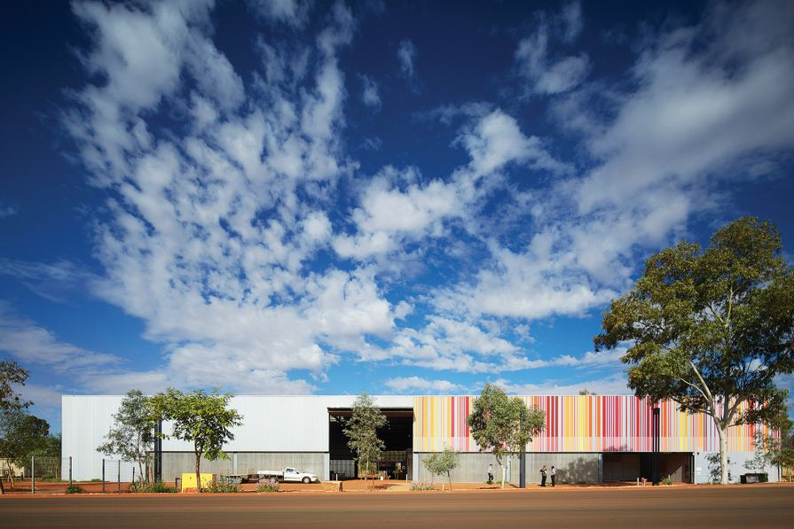 East Pilbara Arts Centre by Officer Woods.