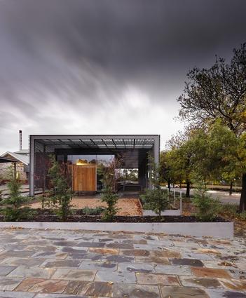 Penfolds Magill Estate by Denton Corker Marshall.