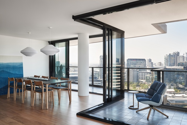 Yarra's Edge Apartment by Ha – Architecture, Product & Environment.