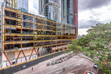 International House Sydney by Tzannes is praised in the report for its use of mass timber construction.