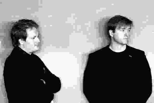 NORD建筑事务所的Johannes Molander Pedersen(左)和Morten Rask Gregersen(右)。