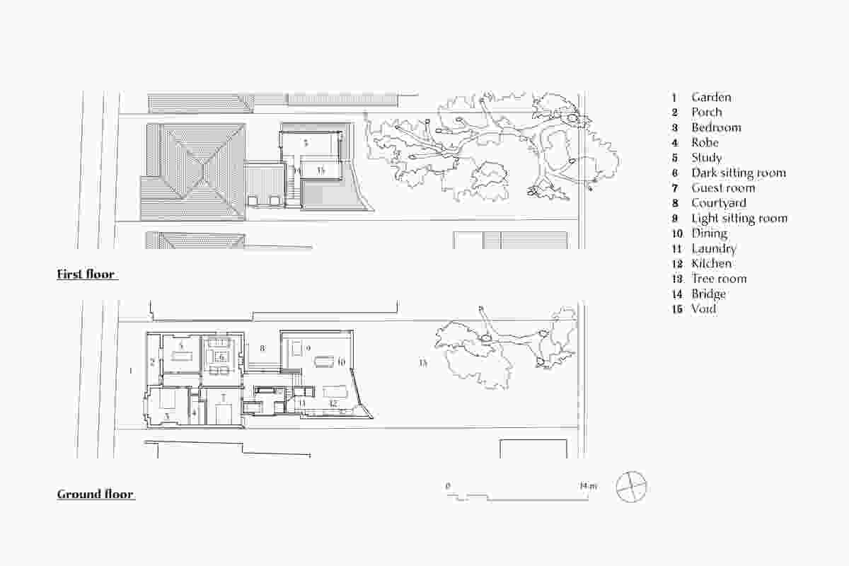 Plans of Jac House by Panov Scott.