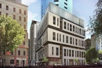 Approved Melbourne tower skirts new planning controls