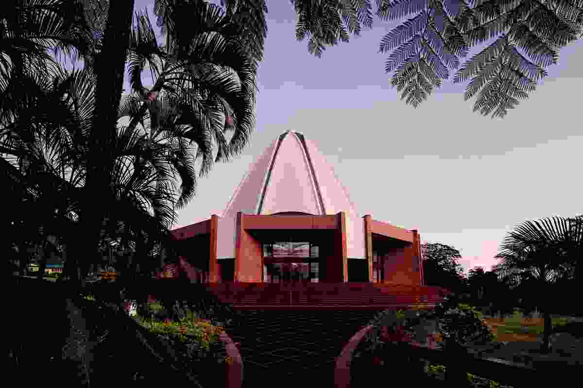 The Baha'i temple in Samoa.