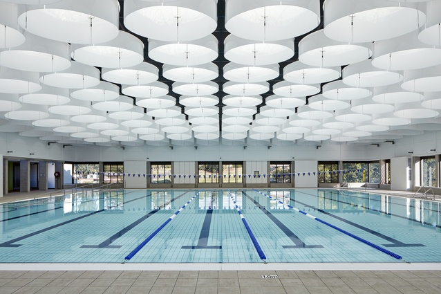 Gympie Aquatic Recreation Centre by Liquid Blu Architects.