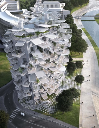 White Tree (L'Arbre Blanc) by Sou Fujimoto Architects, Nicolas Laisné Associés and Manal Rachdi Oxo Architects.