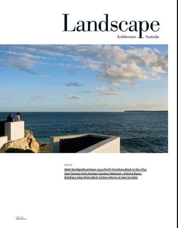 Landscape Architecture Australia, May 2008