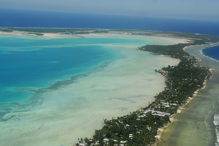 South Tarawa, Kiribati.