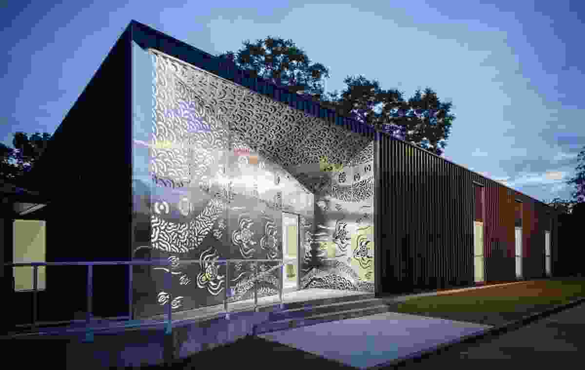 Sydney practice Kaunitz Yeung Architecture won for its project Biripi Aboriginal Clinic in the Healthcare Architecture category.