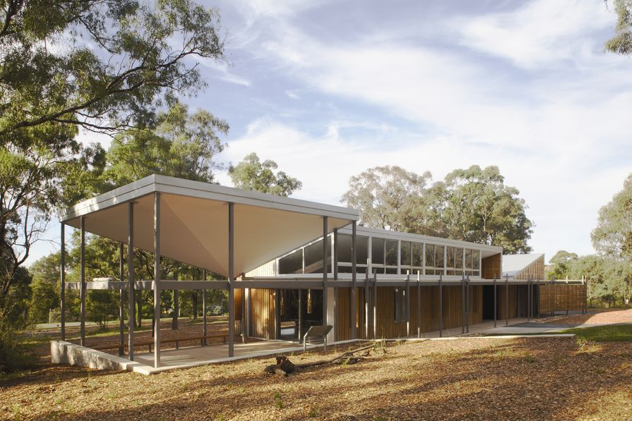 The Bowden Centre at Mt Annan Botanic Garden by Kennedy Associates, 2008 Sulman Award winner, is now for listing on the NSW Chapter Register.