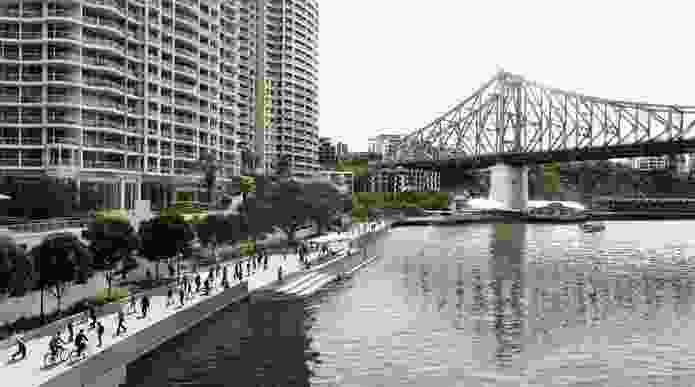 The City Reach Waterfront Masterplan affects a 1.2-kilometre stretch of the waterfront between the City Botanic Gardens and Howard Smith Wharves.