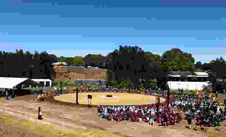 Murama Healing Space & Dance Ground by Murama Cultural Council in partnership with the Sydney Olympic Park Authority.