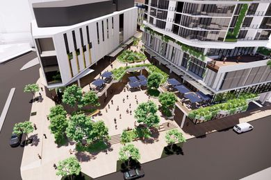 Toowong Town Centre by Nettleton Tribe.
