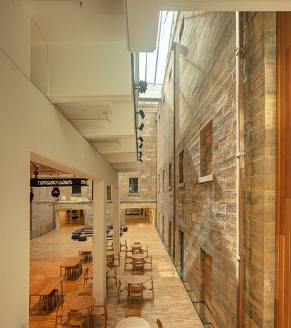 Australian Museum Project Discover by Neeson Murcutt and Neille, Cox Architecture.