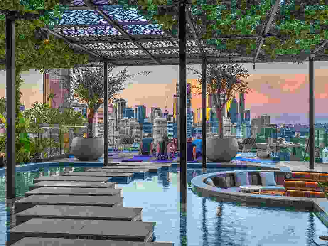 The New Backyard – Lexington, Akira, St Julien and Oxley & Stirling by RPS, winner of a Landscape Architecture Award in the Gardens category.
