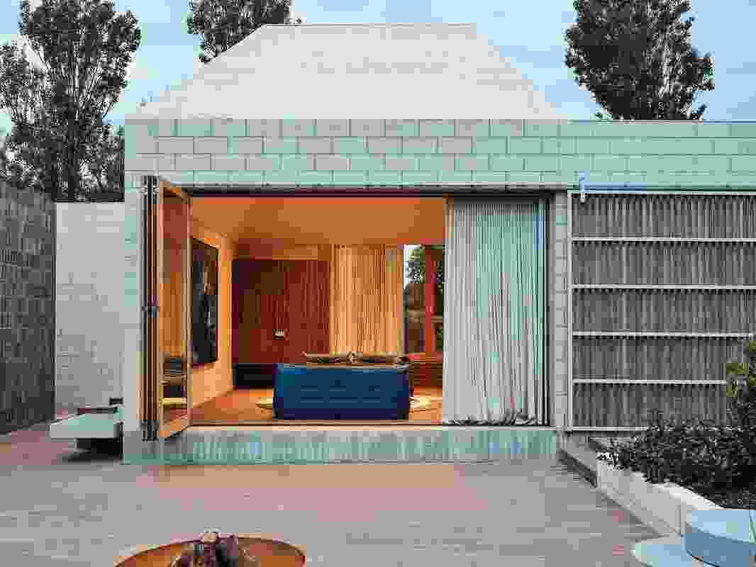 Bellows房子由建筑师吃。