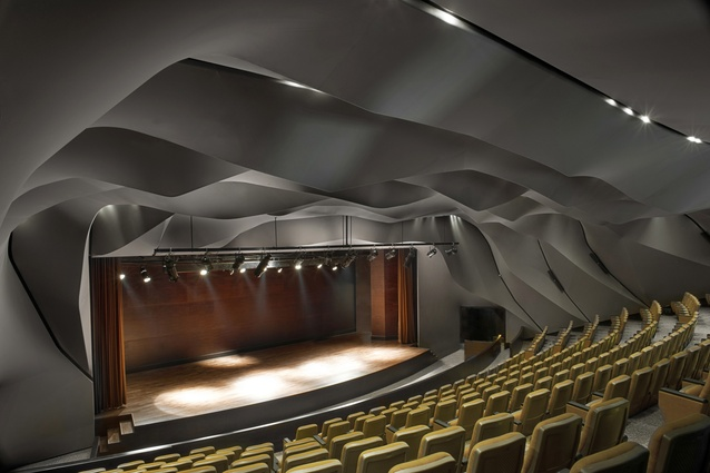 Masrah al Qasba Theatre by Magma Architecture.